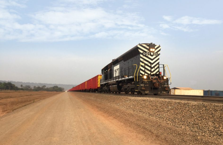 EGA Train Delivers First Guinean Bauxite Ore Shipment To The Coast