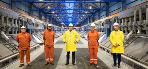 Norsk Hydro's Husnes Aluminium Smelter Running At Full Capacity For The First Time Since 2009