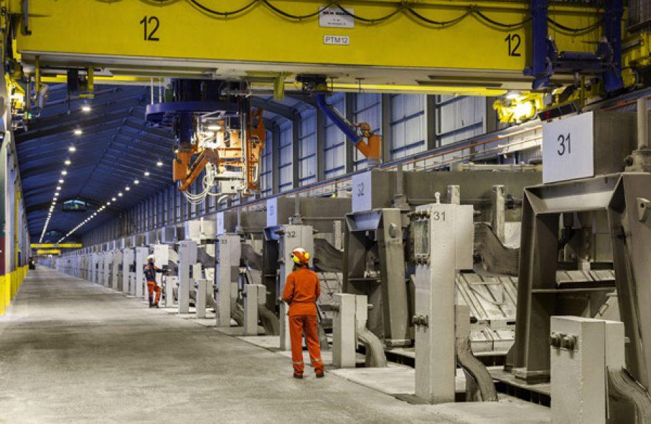 Century Aluminum Debuts New Line Of Low-Carbon Aluminium
