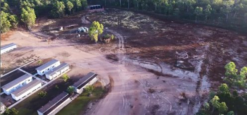 Construction of Port and Infrastructure Underway at Metro Mining's Bauxite Hills Mine