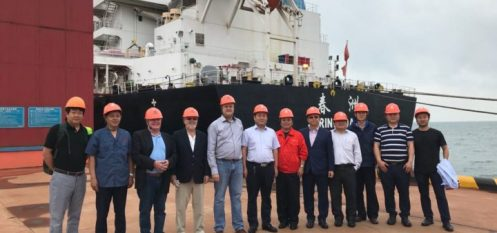 Metro Mining's Inaugural Bauxite Shipment Arrives in Qingdao