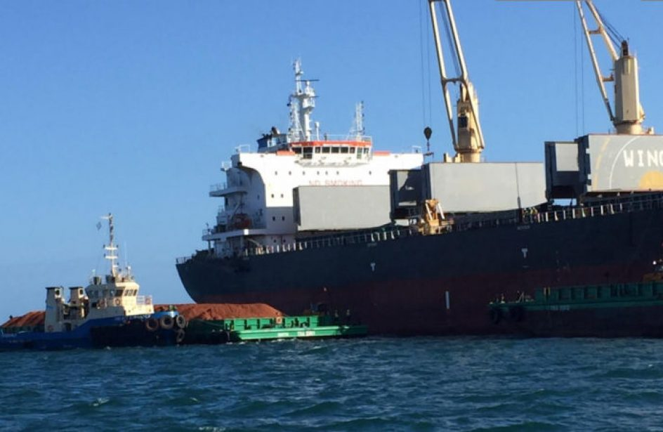 Metro Mining's First Shipment of Bauxite Sails for China